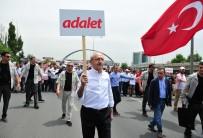 BAHAR HAVASI - CHP'nin 'Adalet Yürüyüşü'nün İlk Günü Tamamlandı