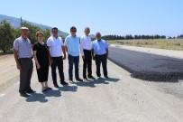 KIŞ MEVSİMİ - Gazipaşa Koru'da Sıcak Asfalt Sevinci