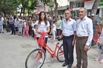 YUSUF ÖZDEMIR - Gölbaşı Belediyesi Birincileri Bisikletle Ödüllendirdi