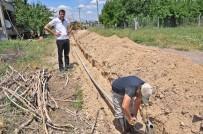 YUSUF ÖZDEMIR - Gölbaşı Belediyesinden Alt Yapı Çalışması