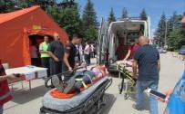 YANGIN TÜPÜ - Hastanelerde Sivil Savunma Tatbikatları Yapıldı