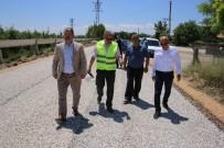 ERTUĞRUL ÇALIŞKAN - Karaman Belediyesi Bahçe Yollarını Da Asfaltlıyor