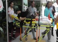 ARBEDE - Kızını Korumaya Çalışan Yaşlı Kadını Bacağından Vurdular