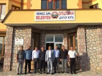 CEYLANPINAR - Makedonya'daki Türk Belediyesine Sürpriz Ziyaret