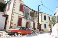 HAYALET - Deprem Sonrasında Ablukaya Alınan Köye İHA Girdi