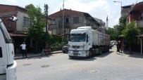 GÜZERGAH - (Özel) Hafriyat Kamyonları Tehlike Saçmaya Devam Ediyor