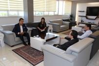 PORSELEN TABAK - Sanatçı Alpay'dan Rektör Kızılay'a Ziyaret