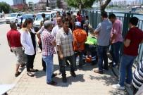 GÖRGÜ TANIĞI - Sulama Kanalında Başını Çarparak Yaralanan Genci Vatandaşlar Kurtardı
