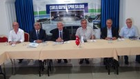 ÇORLU BELEDİYESİ - Tekirdağ Büyükşehir Belediyesi Çorlu'ya Spor Salonu Yaptıracak