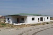 BEKLEME ODASı - Turgutlu'da Gasilhane Çalışmaları Devam Ediyor