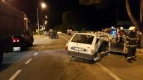 GÜZELYALı - Ünye'de Trafik Kazası Açıklaması 4 Yaralı