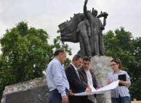 ATATÜRK ANITI - 28 Yıl Aradan Sonra Atatürk Anıtı'nın Çevresi Yenileniyor