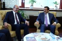 BAĞLUM - ATO Başkanı Baran, Başkan Ak'ı Ziyaret Etti