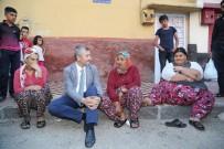 MEHMET TAHMAZOĞLU - Başkan Tahmazoğlu, Obezite Hastası Açıkgöz'ü Ziyaret Etti