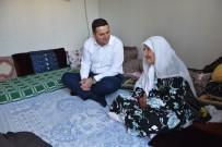 EVDE TEK BAŞINA - Başkan Vekili Öztürk'ten Yaşlı Kadına Ziyaret