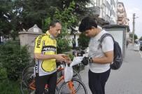 Bisikletçilerden Ramazan Hayrı