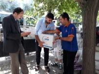Denizli AFAD'dan Suriyelilere Gıda Yardımı