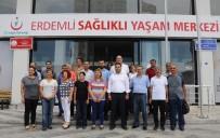 SAĞLIĞI MERKEZİ - Erdemli Sağlıklı Yaşam Merkezi Açıldı