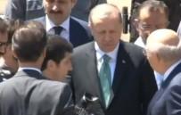 MARMARA ÜNIVERSITESI - Erdoğan, Cuma Namazını Marmara İlahiyat Camii'nde Kıldı
