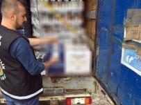 ALKOLLÜ İÇKİ - Gümrükte Tırda 14 Bin 880 Şişe Kaçak İçki Ele Geçirildi