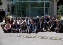 AHMET YILDIRIM - HDP'li Vekillerden Anayasa Mahkemesi Önünde Oturma Eylemi