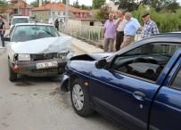 Hisarcık'ta Trafik Kazası Açıklaması 1 Yaralı