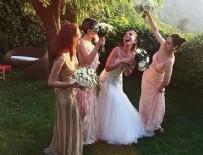 SERENAY SARIKAYA - Kerem Bürsin'in ablası Melis Bürsin evlendi