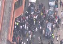 THERESA MAY - Londra'da Yangın Protestosu