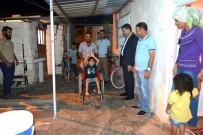 CEYLANPINAR - Minik Celal'in Tekerlekli Sandalye Sevinci