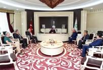 TUNCAY ÖZKAN - Orhaneli Belediye Başkanı Tatlıoğlu'ndan Başkan Toru'ya Ziyaret