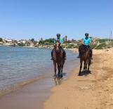 TURİZM SEZONU - Sahillerde Güvenliği 'Atlı Jandarma Timi' Sağlayacak