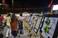 GÜLBEYAZ - Sanatın tonları Kırıkkale'de