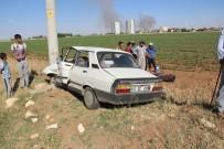 GÖBEKLİTEPE - Şanlıurfa'da Trafik Kazası Açıklaması 4 Yaralı