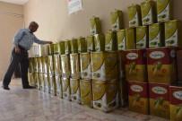 ZEYTİNYAĞI - Siverek'te 2 Ton Kaçak Zeytinyağı Ele Geçirildi
