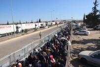 ÖNCÜPINAR - Ülkelerine Giden Suriyelilerin Sayısı 10 Bini Aştı