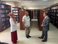 OSMANLıCA - Vali Tapsız, Türkoloji Merkezi Türkçe Kütüphanesini Gezdi