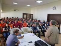 Yangınla Mücadele Ekiplerine 'İşbaşı Ve Bilgi Yenileme' Eğitimi