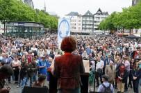 MÜSLÜMANLIK - Almanya'da Müslümanlar Teröre Karşı Yürüdü