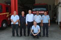 KAHRAMANLıK - Başkan Osman Zolan'dan Kahraman İtfaiyecilere Ziyaret
