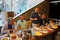 KADIR PERÇI - Birecik İlçe Jandarma Komutanına Veda Yemeği