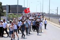 ALİ GÜVEN - CHP İzmir, 'Adalet Yürüyüşü'nün İlk Etabını Tamamladı