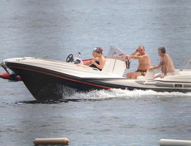 Fatih Terim sürat teknesiyle stres atıyor