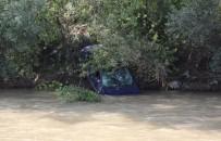 FILYOS - Karabük'te Otomobil Çaya Uçtu