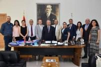 KADİR ALBAYRAK - Kent Konseyleri Platformu Yürütme Kurulu'ndan, Başkan Albayrak'a Ziyaret