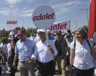 EMEK PARTISI - Kılıçdaroğlu, 'Adalet Yürüyüşü'nün 3. Gününde İlk Molayı Verdi