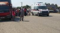 SEBZE YÜKLÜ KAMYON - Kumluca'da Kaza Açıklaması 1 Ölü