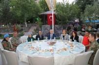 ORHAN TOPRAK - Mehmetçik'ten Şehit Ve Gazi Ailelere İftar Yemeği