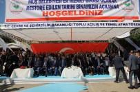 TEMEL ATMA TÖRENİ - Muş'ta Temel Atma Ve Açılış Töreni
