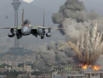 HAVA SALDIRISI - Suriye'de yine siviller öldü