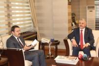 AHMED-I HANI - Ulaştırma Bakanı Arslan Vali Işın'la Görüştü